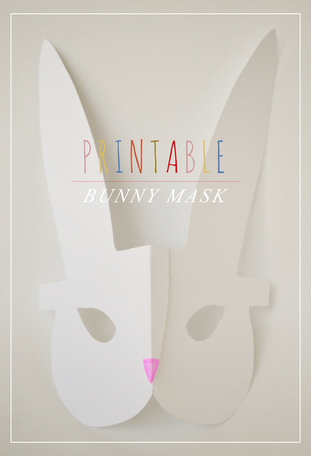 image about Printable Bunny Mask named Crafts for Little ones: Printable Bunny Mask Playful Understanding