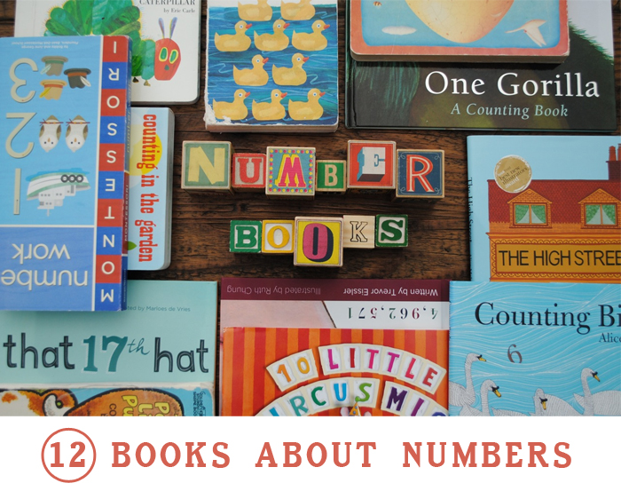 12 Books about Numbers