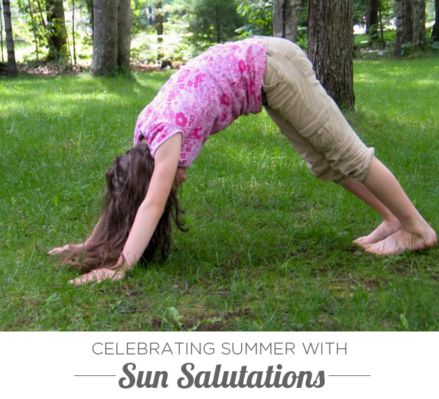 Celebrating Summer with Sun Salutations