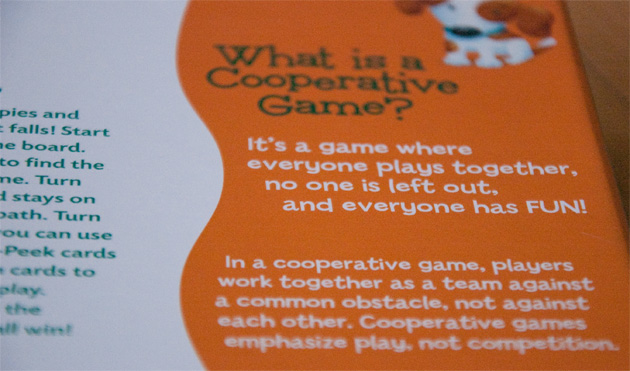 Peaceable Home: Cooperative Games