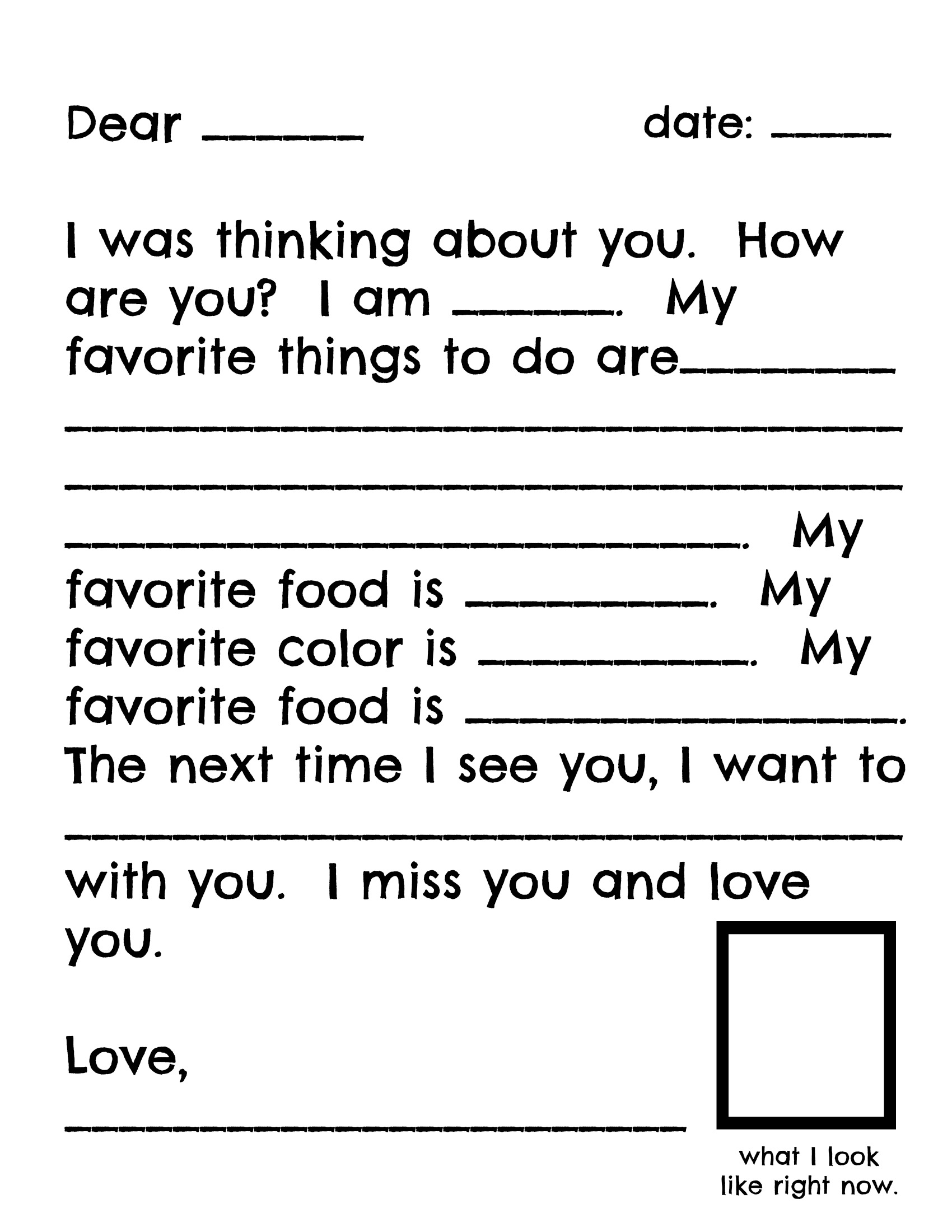 letter format for kids raising a boy who to write playful learning 27367