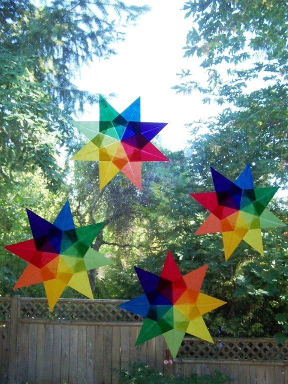 how to make a star kite