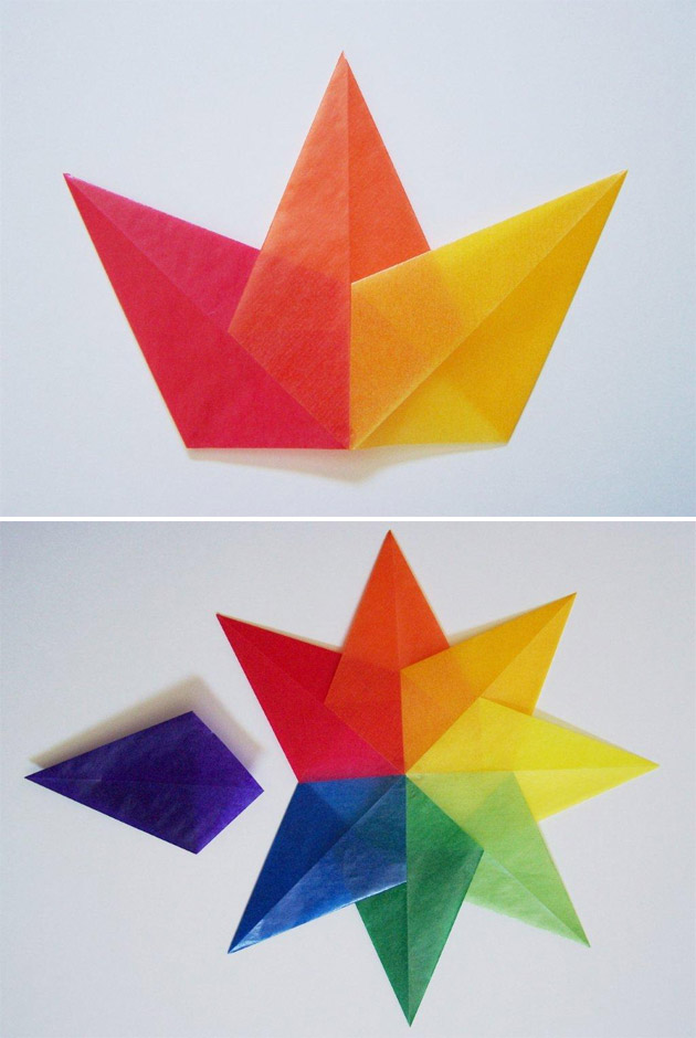 Crafts For Kids Kite Paper Stars