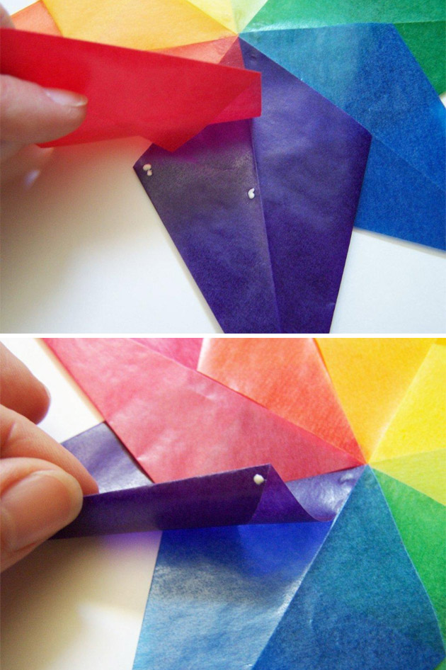 Crafts for Kids: Kite Paper Stars