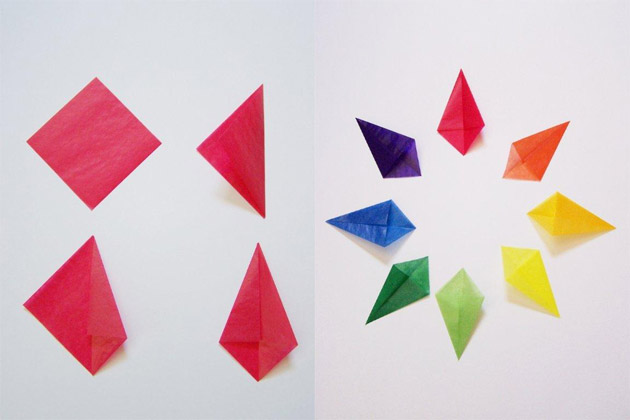 Paper Diamond Craft