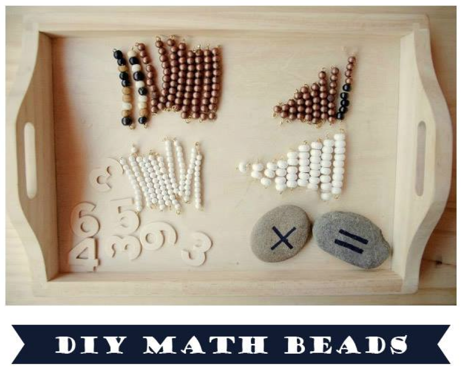 Playful Learning DIY Math Beads