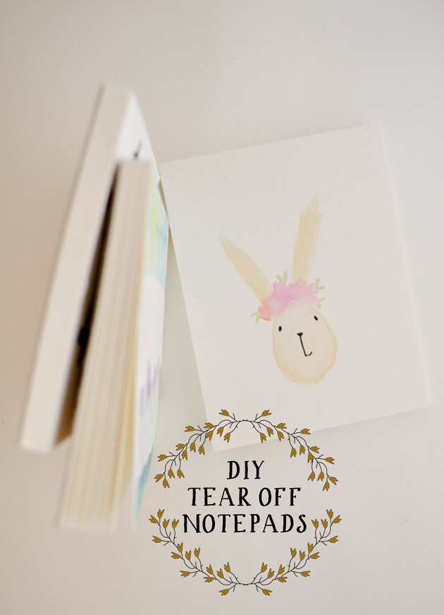 DIY Tear Off Notepads