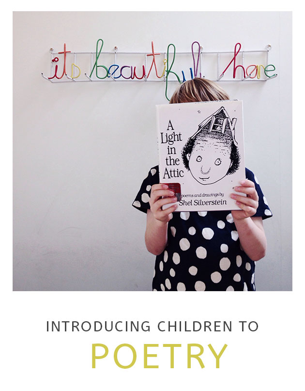 Introducing Children to Poetry
