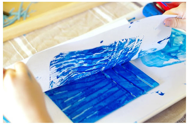 Lino Block Printing for Kids