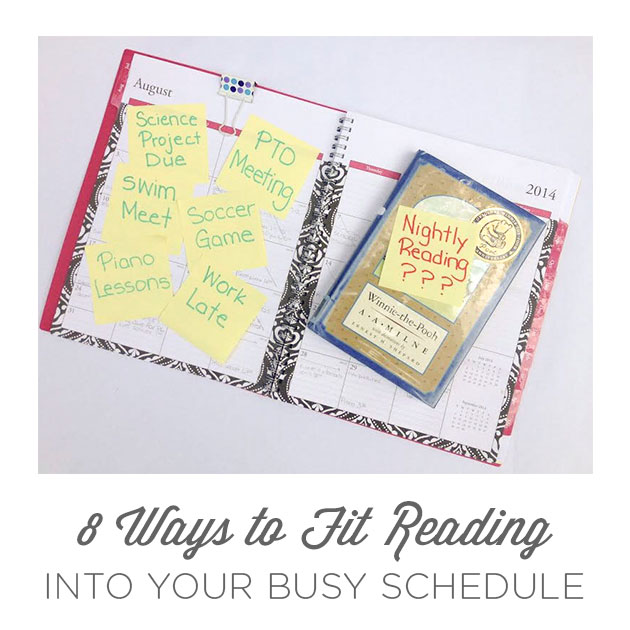 8 Ways to Fit Reading Into Your Busy Schedule