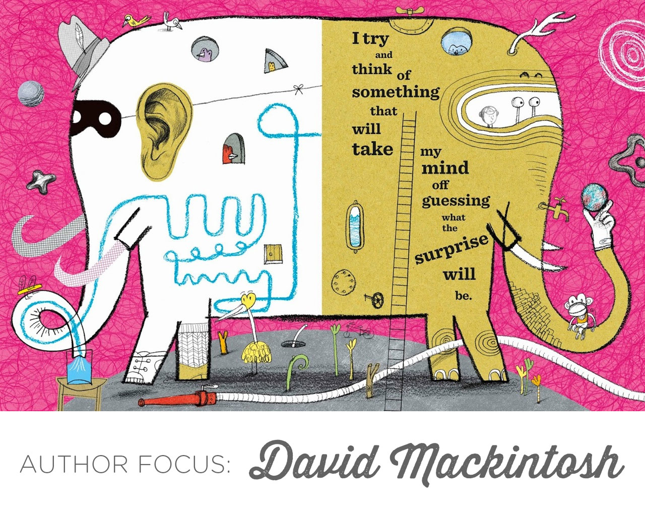 Author Focus: David Mackintosh