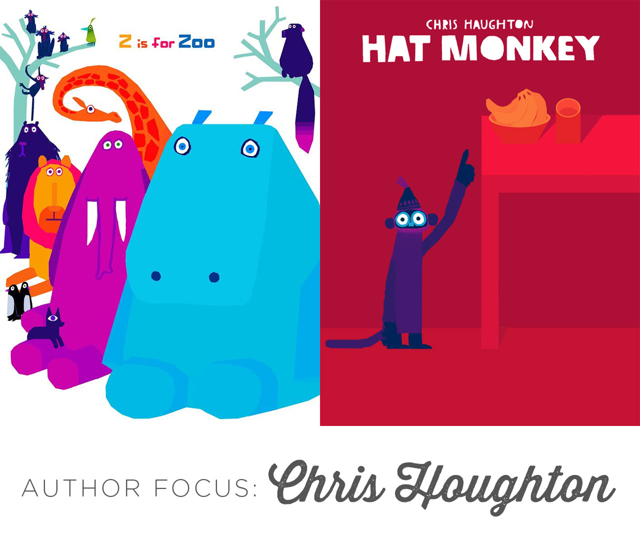 Author Focus: Chris Houghton