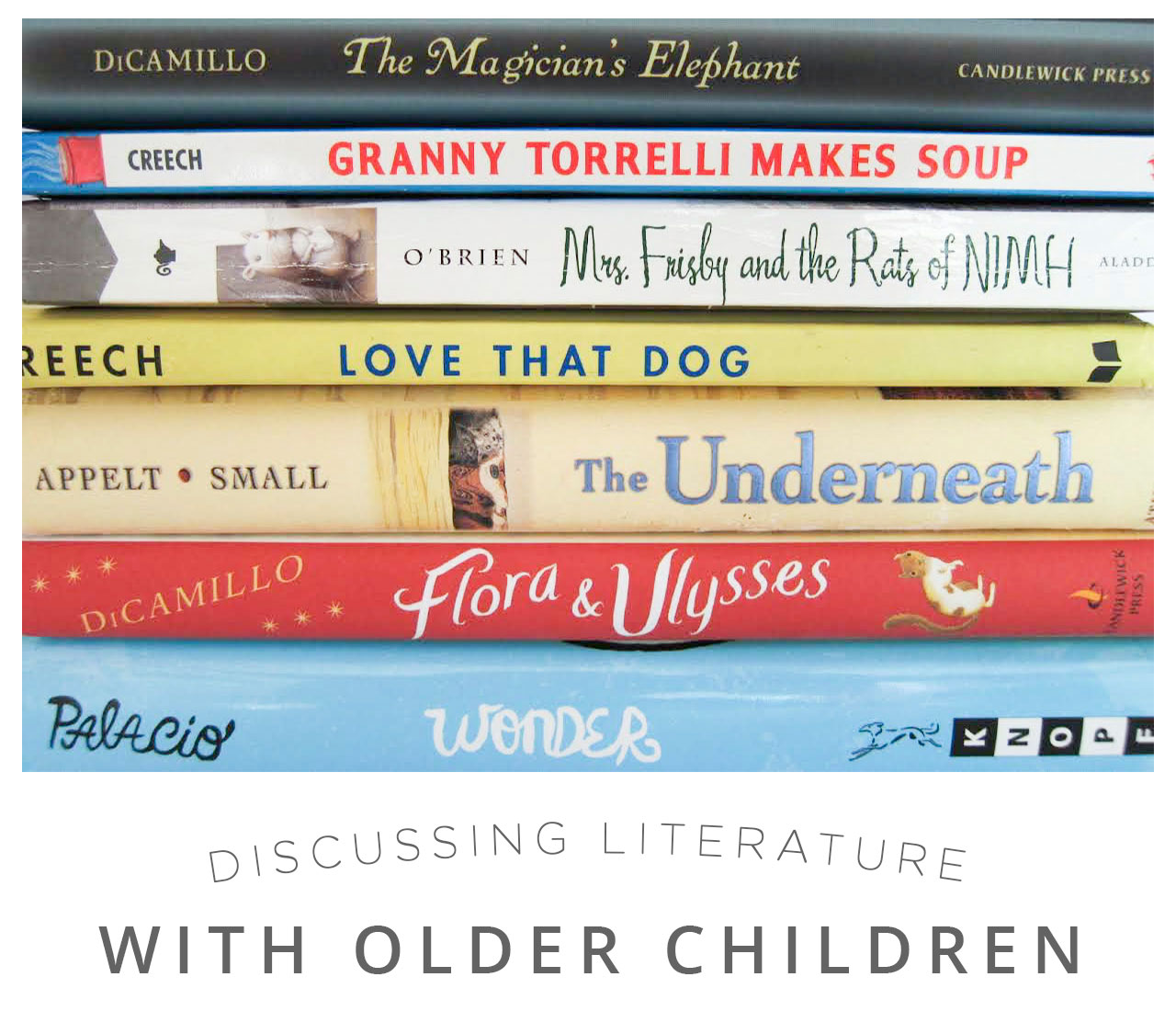 Discussing Literature with Older Children