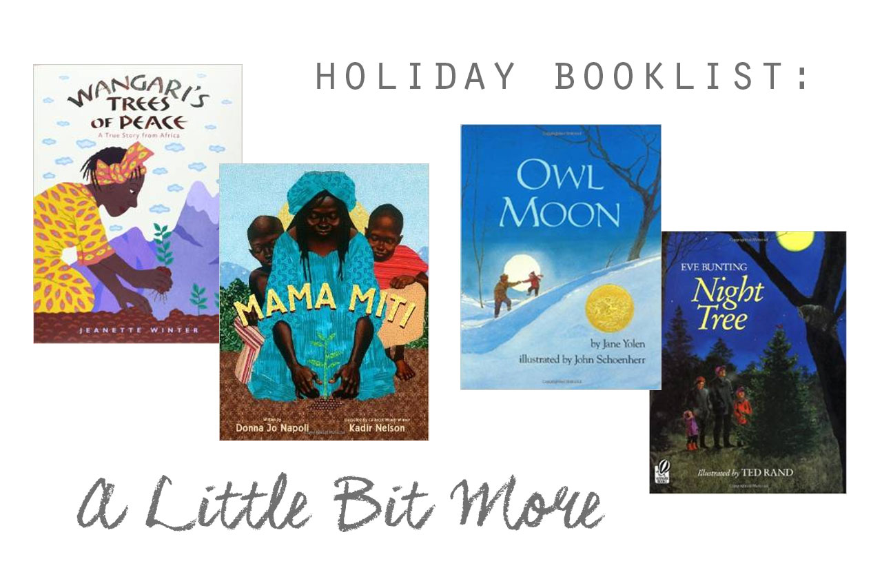 Holiday Book list: A Little Bit More