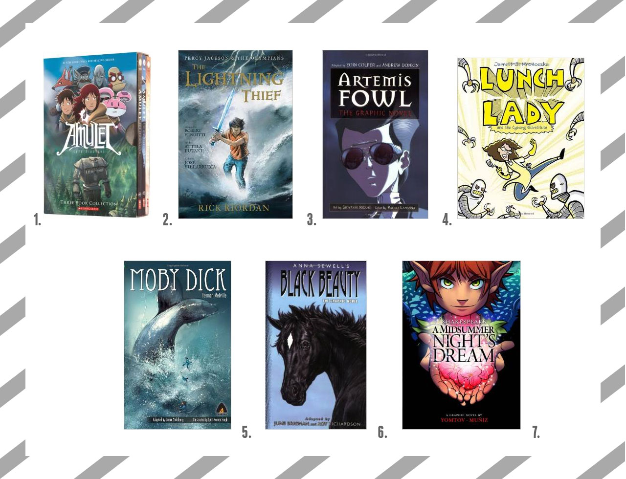 5 Great Reasons to Read Graphic Novels