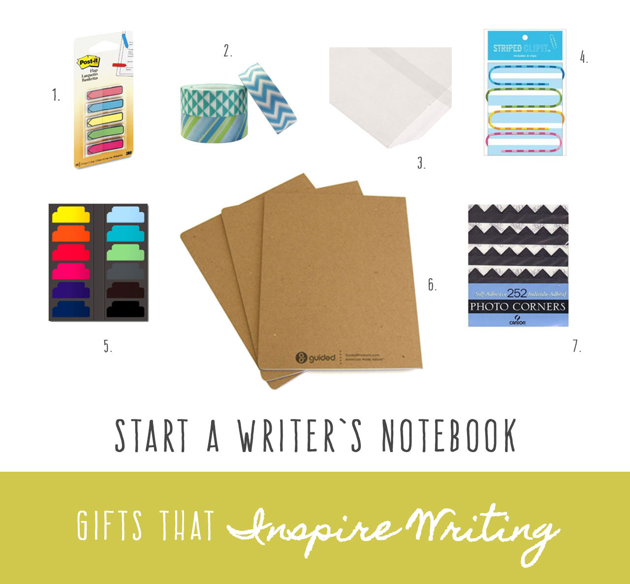 Gifts That Inspire Writing