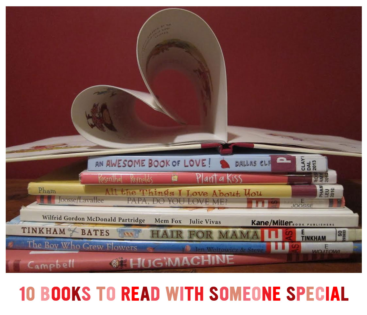 10 Books to Read with Someone Special