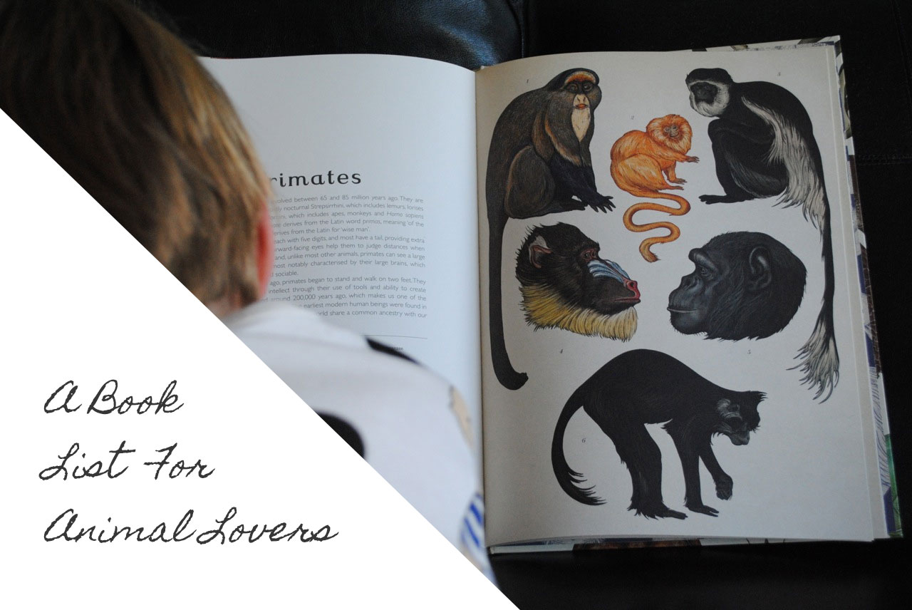 A Book List for Animal Lovers