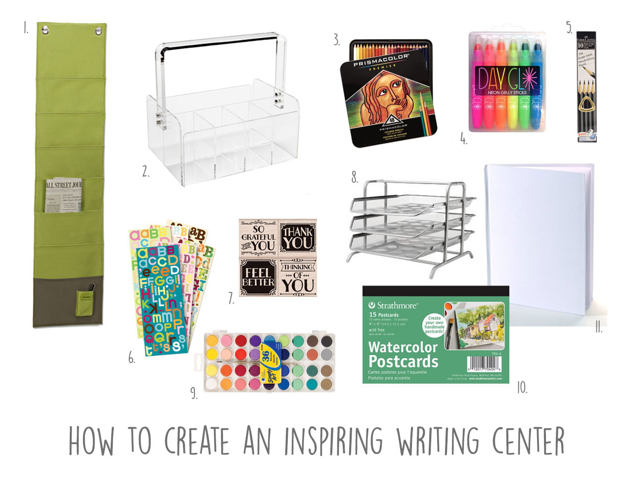 How to Create an Inspiring Writing Center
