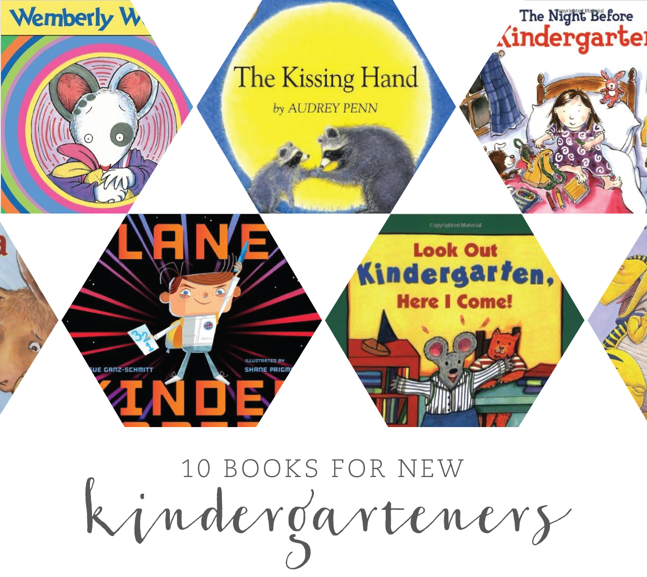 10 Books for New Kindergarteners