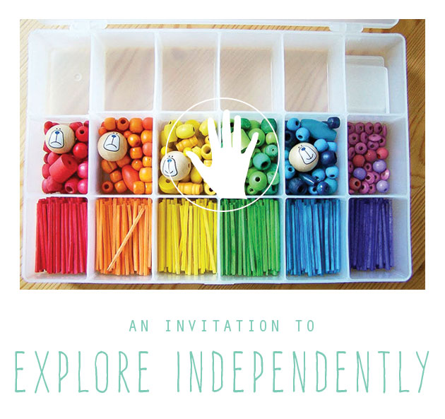 An Invitation to Explore Independently