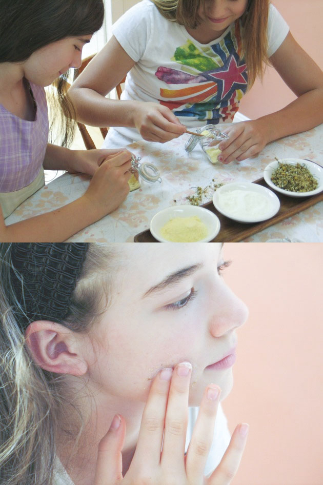 Skin Care for Pre-Teens: Raising Natural + Confident Girls