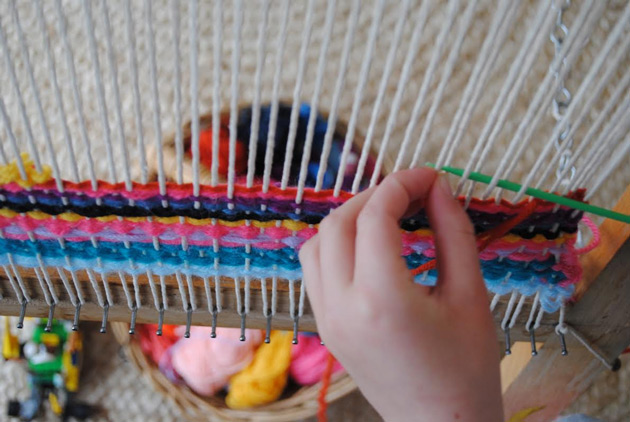 Starting a Communal Loom