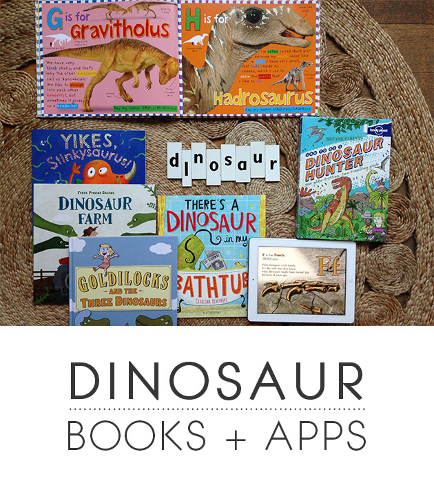 Dinosaur Books + Apps