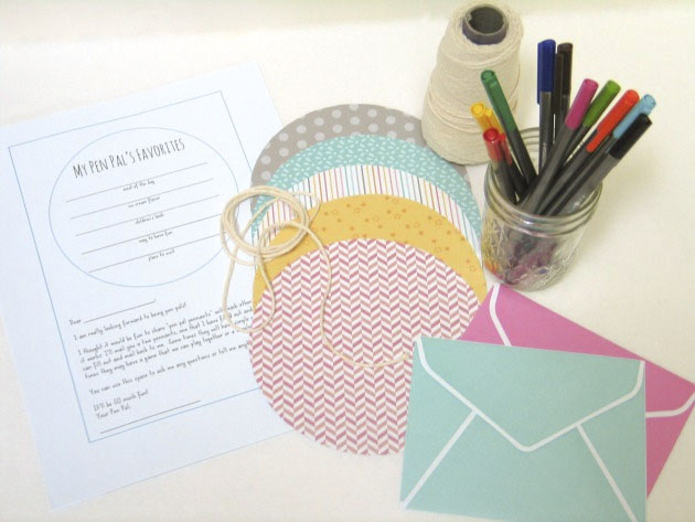 A Playful Pen Pal Project