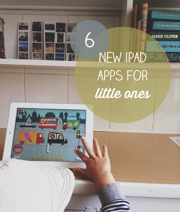 6 New iPad Apps for Little Ones
